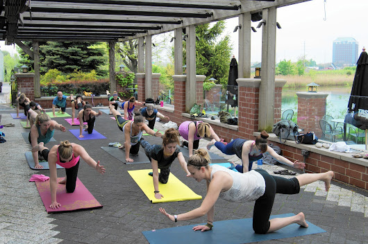 Beer and yoga events are a great way to sequester the insufferable