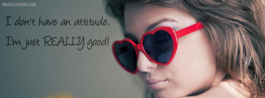 Girls Attitude Facebook Cover Girls Attitude Timeline Cover