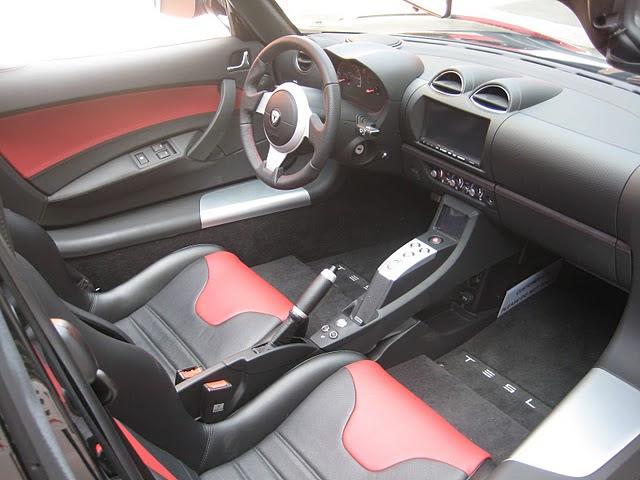 Roadster Tesla Inside Supercars Gallery