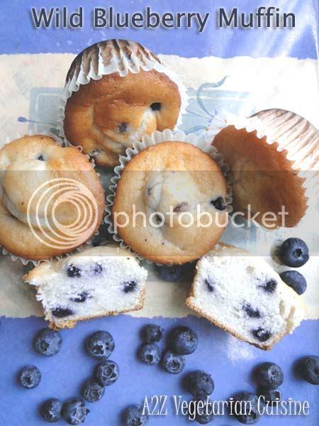 Wild BlueBerry Muffin