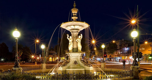 Alexandra Fountain Lighting Project - Lighting Projects' Portfolio | Lumascape
