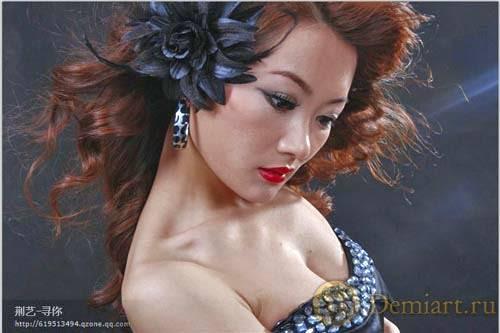 Фотообработка и цветокоррекция портрета в Фотошопе