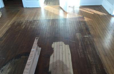 Hardwood floor refinishing & repair Margate, NJ 08402