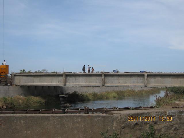Bridge on the Canal at Dhayari Phata on Sinhagad Road, Pune