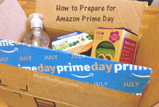 How to Get You and Your Pets Ready for Amazon Prime Day | Woof Woof Mama