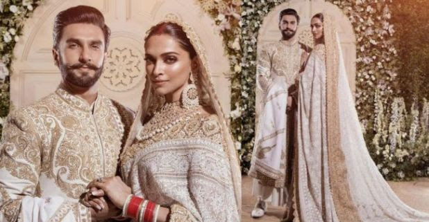 Deepika-Ranveer Are Sight To Behold At Their Mumbai Wedding Reception