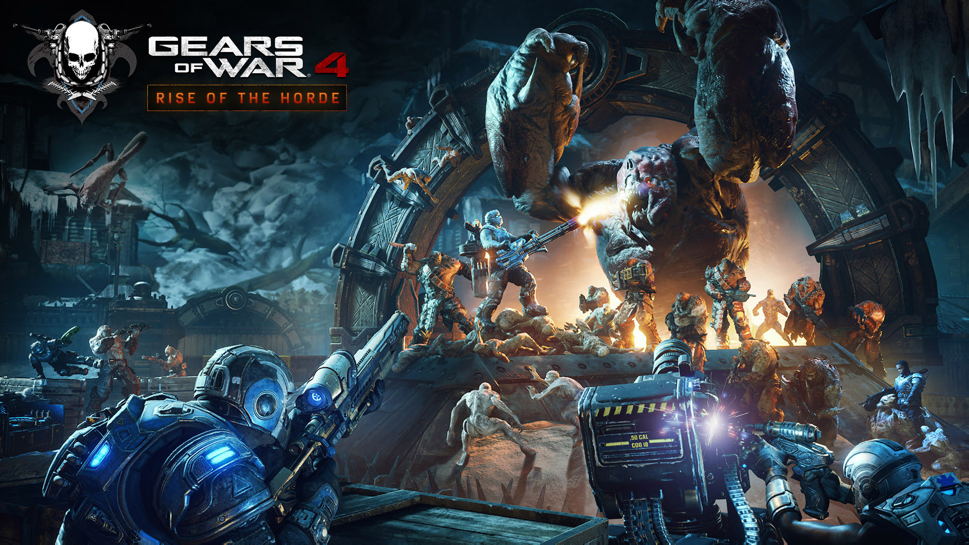 Gears of War 4 is getting a Horde update and a 10-hour trial soon screenshot