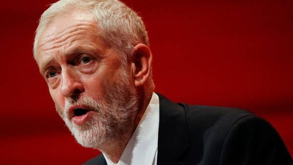 Jeremy Corbyn, líder del Partido Laborista británico, en la última conferencia del Partido Laborista