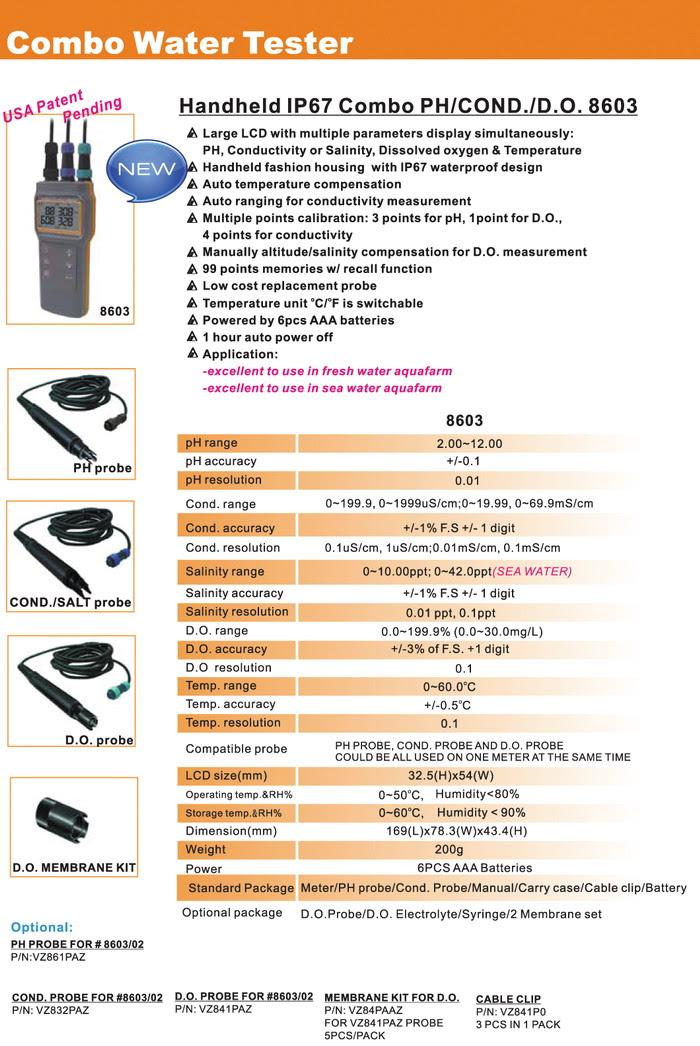 Thông số kỹ thuật AZ8603-COMBO-PH-dẫn-muối-mét