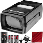 Pana-Vue 6562 Slide Viewer #2 with Transformer + Battery & Charger Kit Deluxe Bundle by PhotoSavings.com