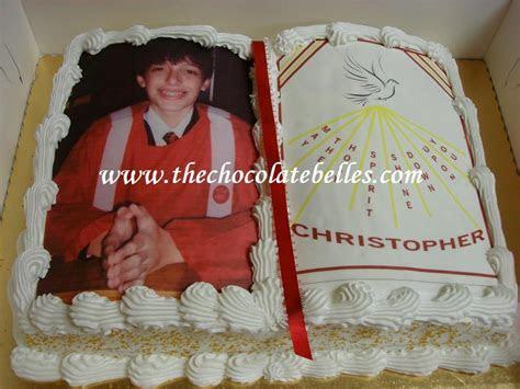 Confirmation Photo Bible Cake