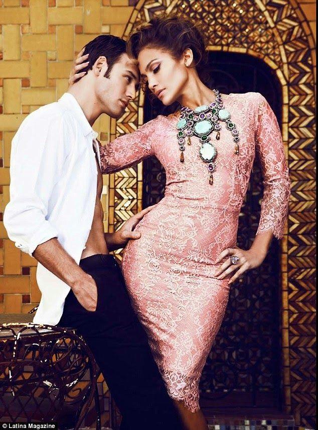Jennifer Lopez : Latina (February 2015)