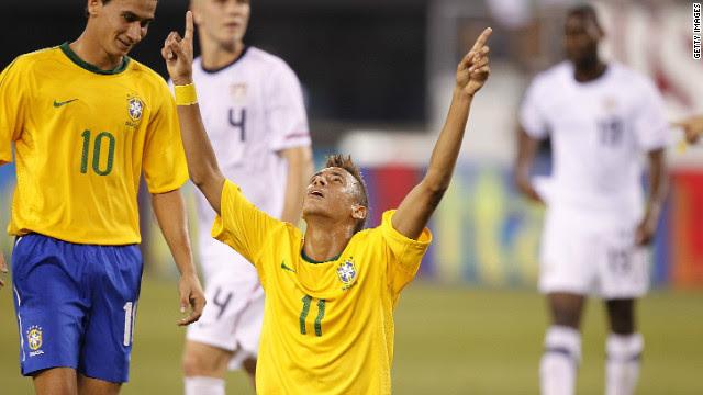 Samba star Neymar