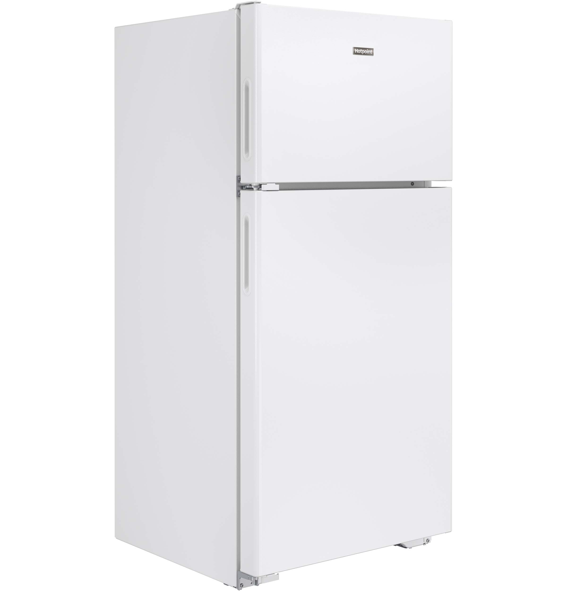 Hotpoint 14 6 Cu Ft Recessed Handle Top Freezer Refrigerator