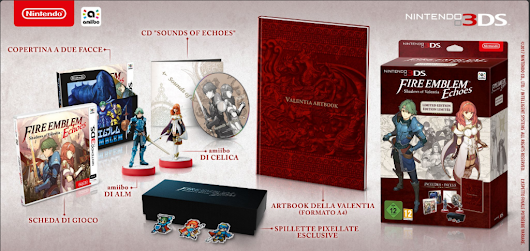 Fire Emblem Echoes - annunciata limited edition europea - I Love Videogames