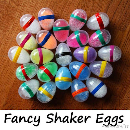 Easy DIY Egg Shakers