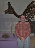 me and duck-billed dino