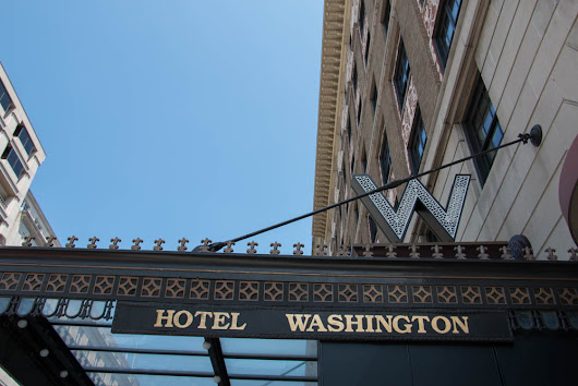 The W Hotel Washington D.C. - Poplar Travels