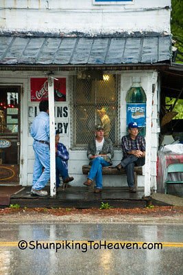 Rainy Sunday Morning at Blevins Grocery, Preston, Kentucky
