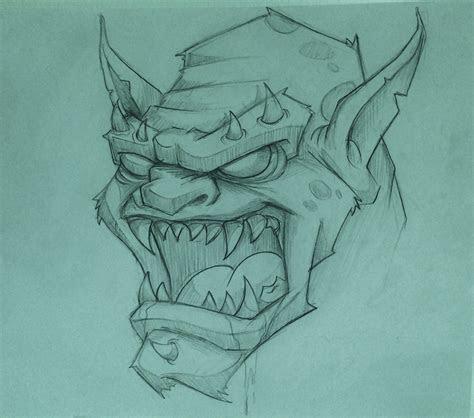 monster sketching  tijuana flats