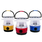 Dorcy International Mini Led Flashlight Lantern Set with Hanging Hooks, Assorted Colors - 3 pack