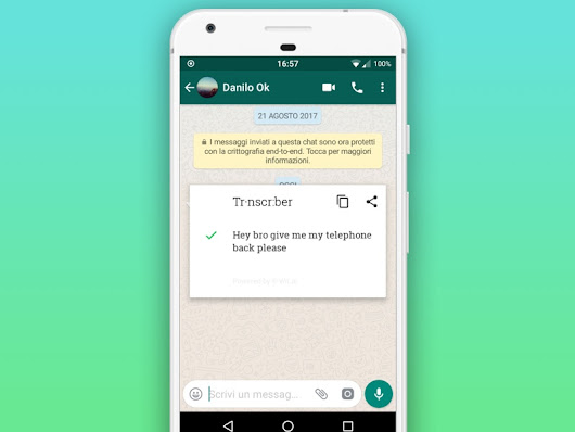 Transcriber Translation App
