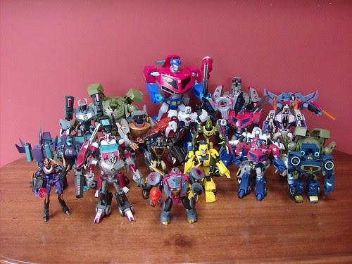 Mi Colección de Transformers (10-Abr-2009) - Animated