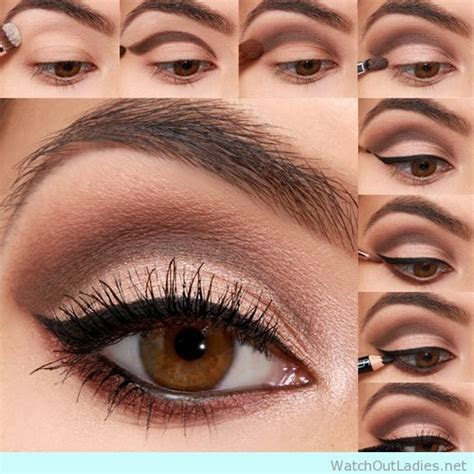 18 Brown Eyed Make Up Tutorials With Eyeliner Details