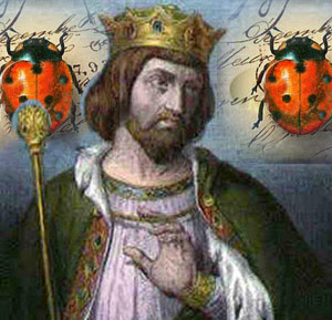 King Robert II the Pious, and ladybugs