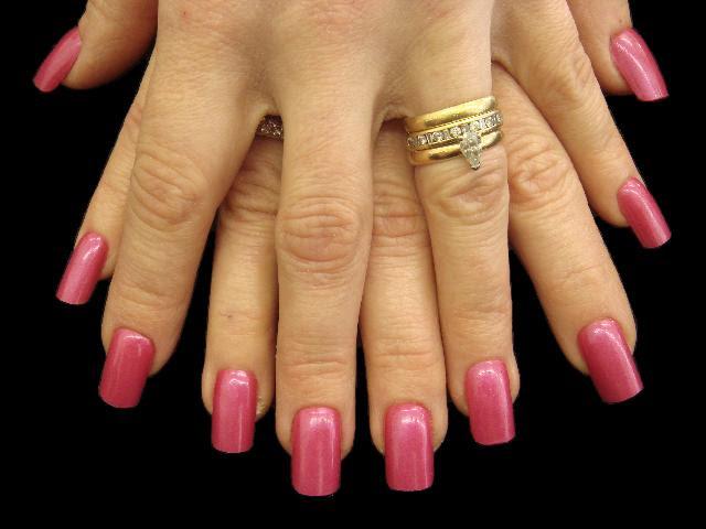 Full Nail Hot Pink 2