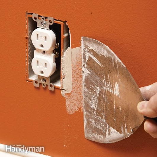 How to Fix an Oversize Electrical Box Cutout | Family Handyman