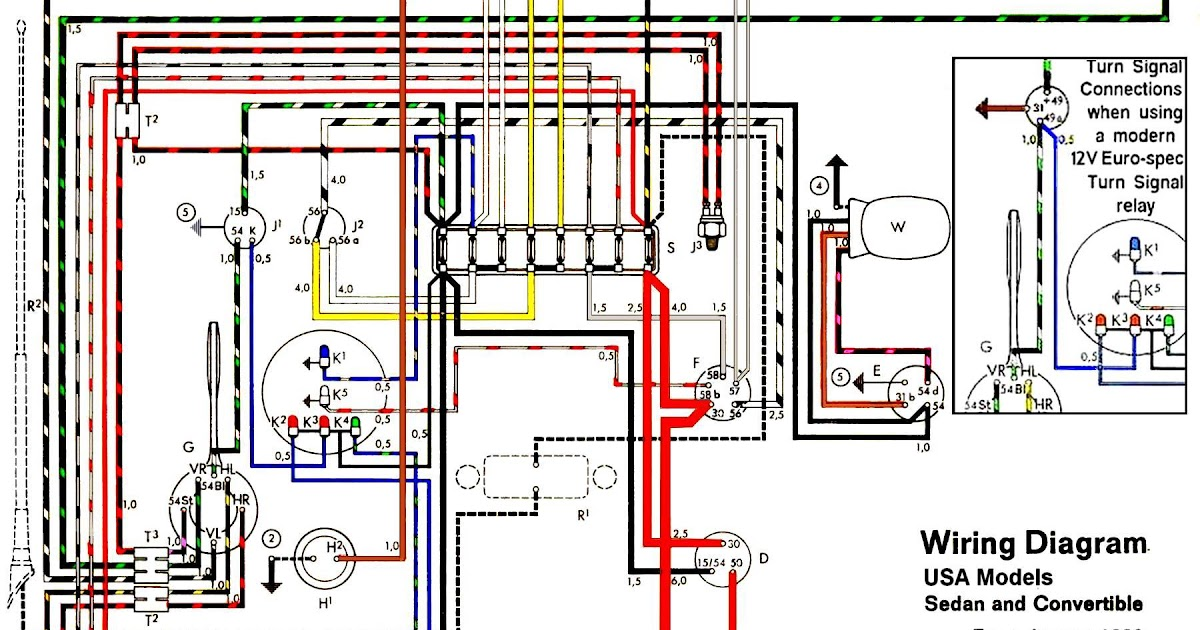 Vw Bug Alternator Wiring Diagram
