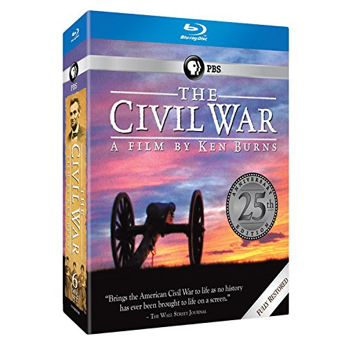 The Civil War 25th Commemorative Edition DVD & Blu-ray Oct 13