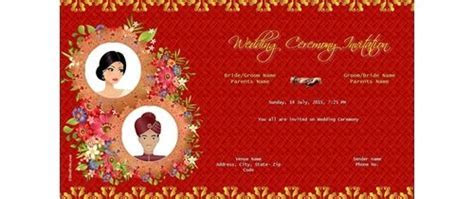 Free Indian Wedding Invitation Card & Online Invitations