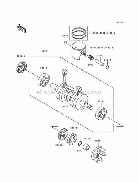 Kawasaki 750 Jet Ski Engine Diagram | Automotive Parts