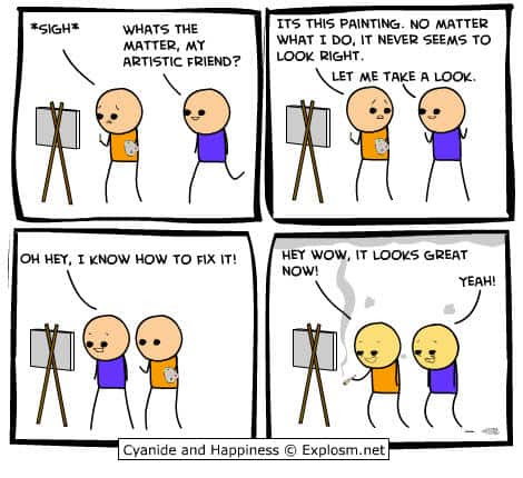 Weekend Fun – Cyanide and Happiness comic strips