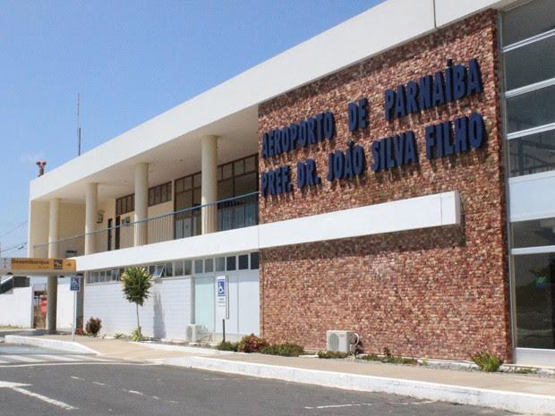 Aeroporto Internacional de Parnaíba está concuído, mas encontra-se subutilizado (Foto: Patrícia Andrade/G1)