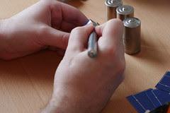 Conductive silver application