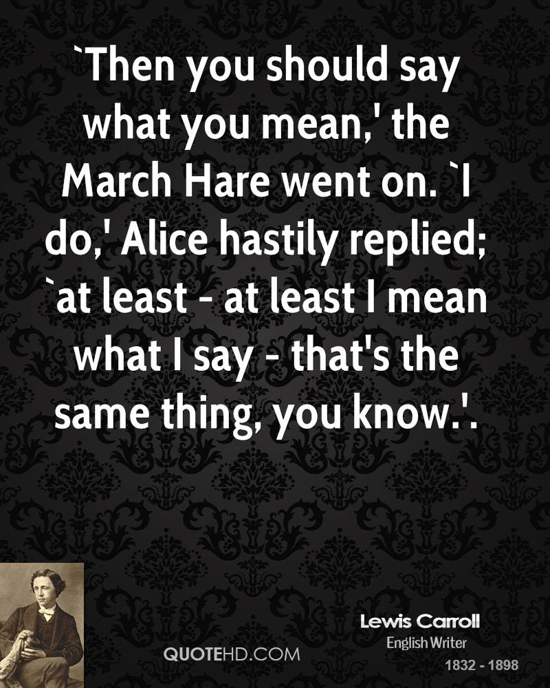 Lewis Carroll Quotes Quotehd