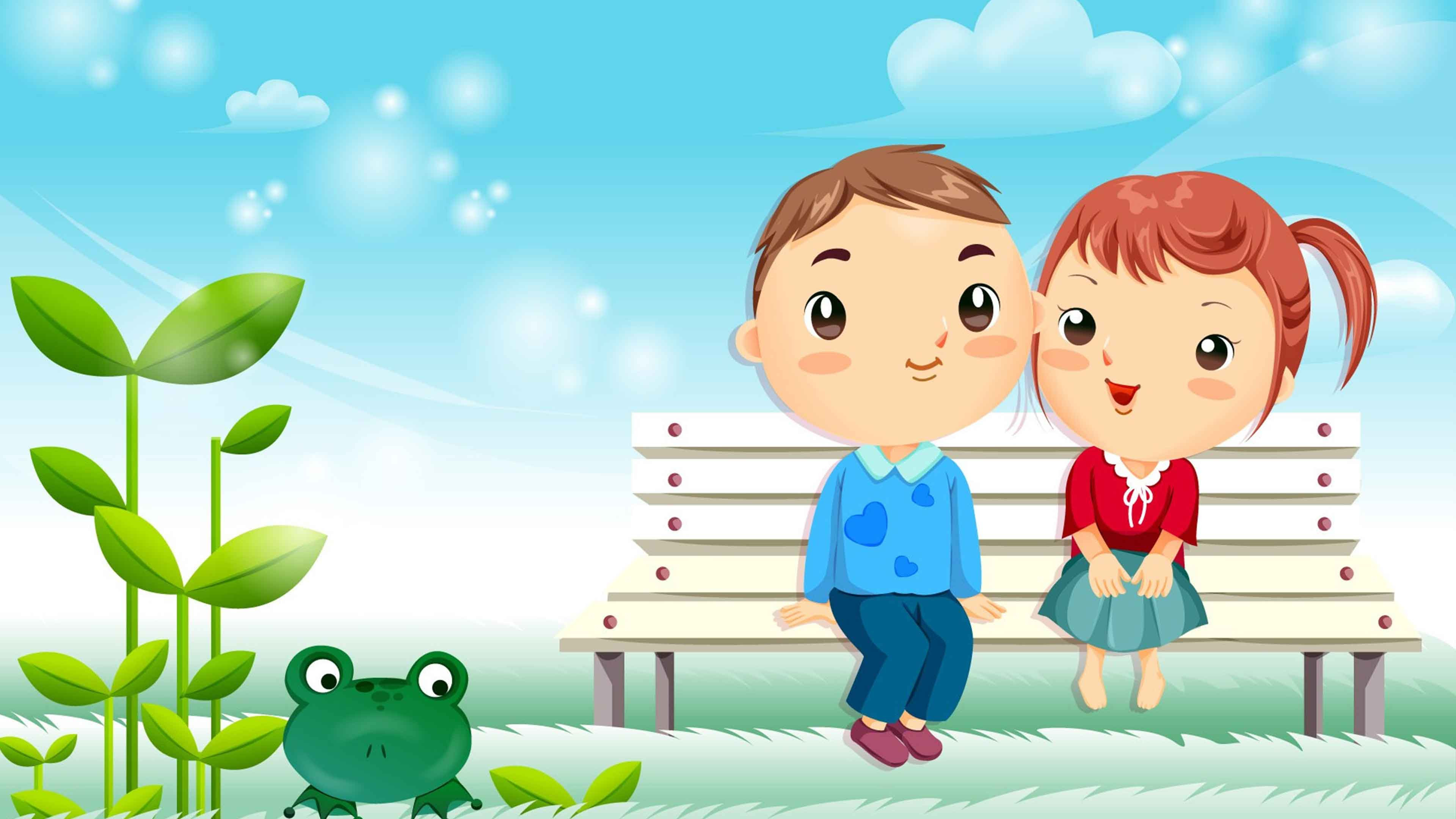 Download Love Cartoon Wallpaper Free Download Gallery