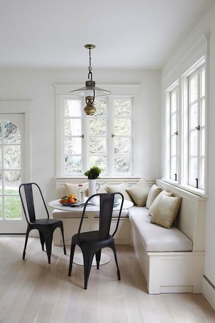 white kitchen via savor home blog