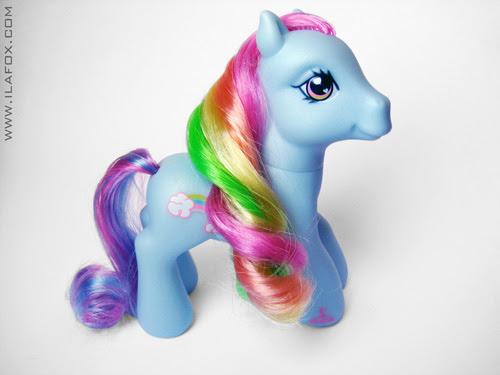 Querido poney, Little Pony, brinquedo, Rainbow Dash, foto
