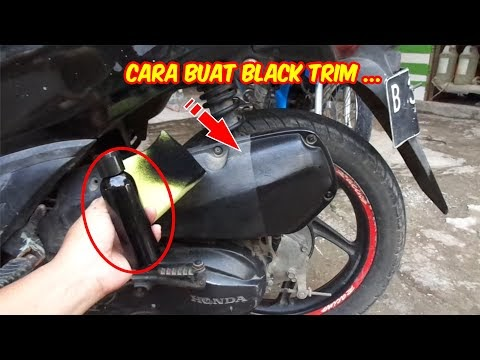 CARA BUAT PENGHITAM BODY MOTOR YANG KUSAM | SB Pemula