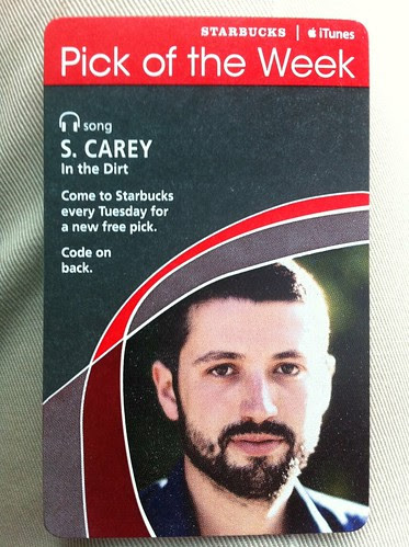 Starbucks iTunes Pick of the Week - S. Carey - In The Dirt