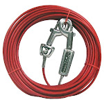 Boss Pet Q3540spg99 Pdq Tie-out With Spring, Red