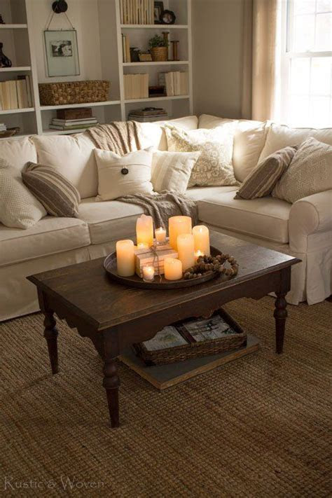 simple ways  style  coffee table