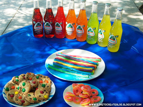 tie-dye-party-food