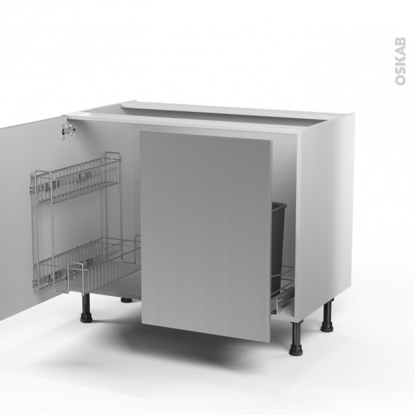 table rabattable cuisine paris meuble sous evier inox. Black Bedroom Furniture Sets. Home Design Ideas