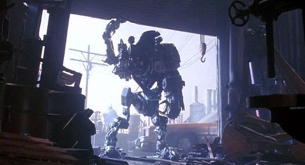 A screenshot of Cain from ROBOCOP 2.