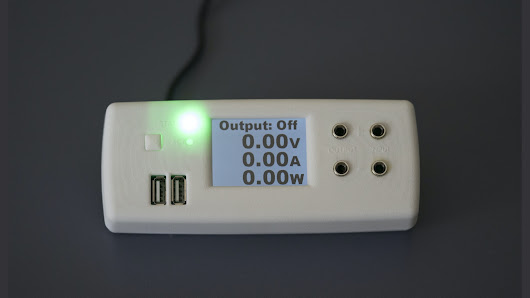 NifteeSupply - 80W 40V/5A Dc Smart Supply & Data Logger